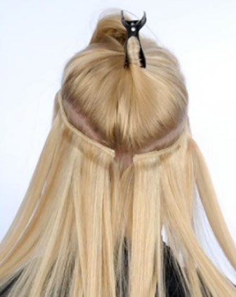 Tape hair extensions melbourne human hair extension i hair the hair extensions with fresh tape to new strands of hair this ensures that the hair previously used is given an opportunity to rest and rejuvenate pmusecretfo Choice Image