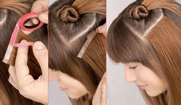 Tape hair extensions melbourne human hair extensions the hair extensions with fresh tape to new strands of hair this ensures that the hair previously used is given an opportunity to rest and rejuvenate pmusecretfo Images