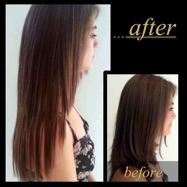 Hair Extensions For Short Hair 5 Melbourne Human Hair Extension I